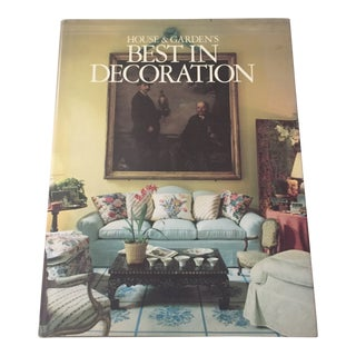 """1987 """"House & Garden's Best in Decoration"""" First Edition Art Book For Sale"""