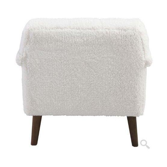 Mid-Century Modern Kenneth Ludwig Rafaelle Fleece Chair For Sale - Image 3 of 6