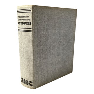 "1969 ""The Complete Encyclopedia of Antiques"" First Edition Reference Book For Sale"