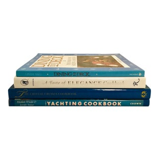 """""""Savory at Sea"""" Cookbook Collection - Set of 4 For Sale"""