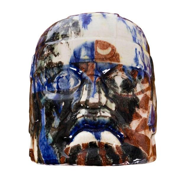 Olmec Head by Eric Ledoux For Sale