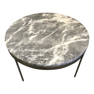 Zographos Grey Marble Round Side Table