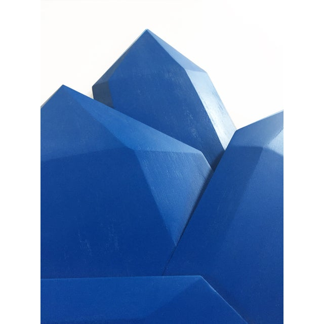 Chloe Hedden Abstract True Blue Crystals Sculpture For Sale - Image 4 of 8