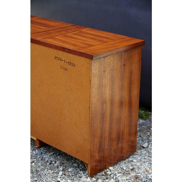 Modern Nine Drawer Low Boy Dresser For Sale - Image 9 of 10