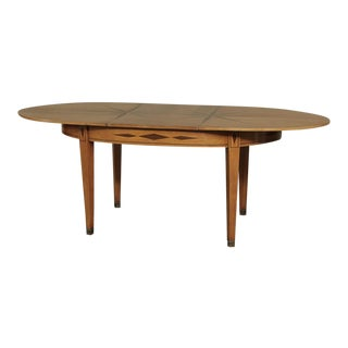 Mid-Century French Directoire Style Inlaid Table For Sale