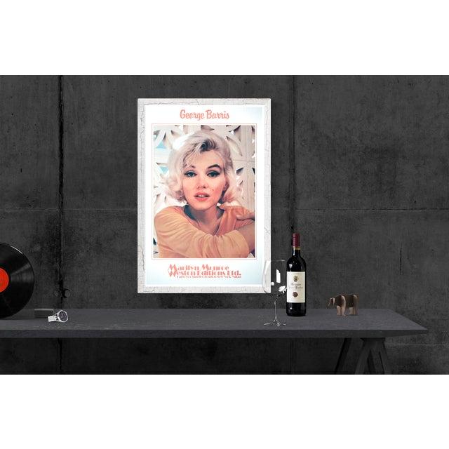 George Barris-Marilyn Monroe- Ethereal Pleasure-1982 Poster For Sale - Image 4 of 4