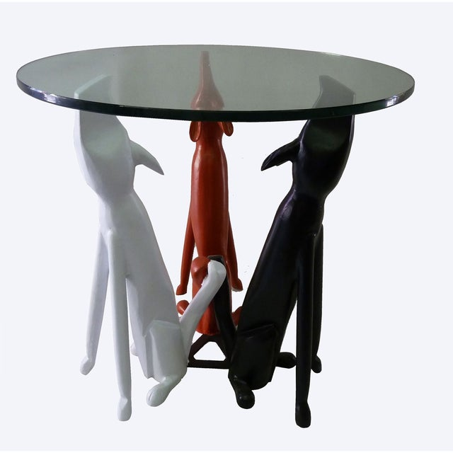 Monteverdi Young Dog Trio Base Table in Aluminum - Image 3 of 7