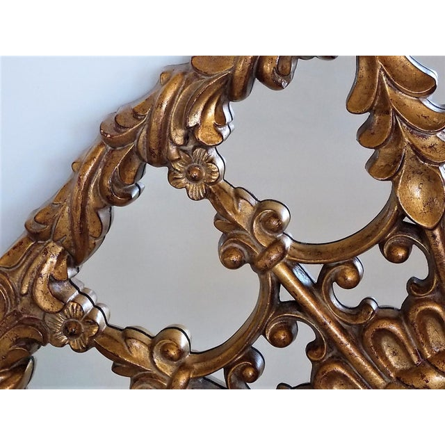 Regency Style Round Mirror For Sale In Milwaukee - Image 6 of 8