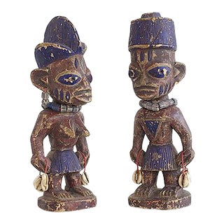 Yoruba Twin Figures For Sale