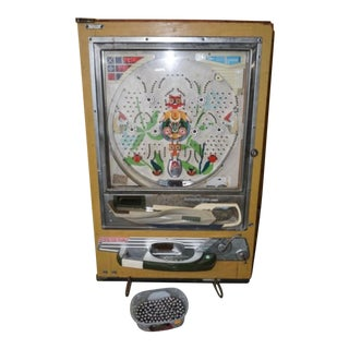 Vintage Pachinko Nishijin Modl B Pinball Game For Sale