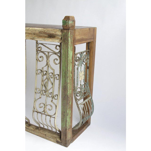 Iron Balcony Console Table - Image 4 of 5