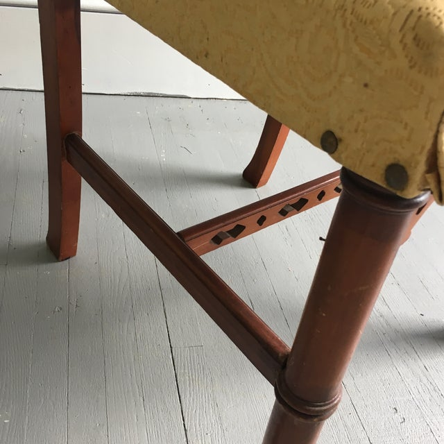 Antique Pagoda Side Chair - Image 8 of 9