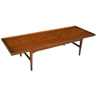 Kipp Stewart Long Board Coffee Table by Drexel For Sale