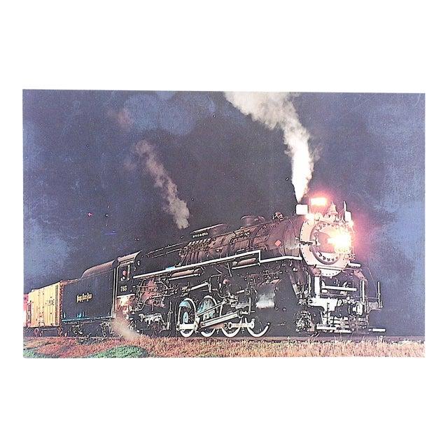 Vintage Railroad Locomotive Photo Postcard - Image 1 of 3