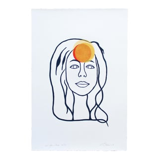 """2010s Contemporary Screen Print, """"Not Your Muse"""" by Kyle Brown"""