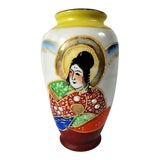 Image of Occupied Japan Painted Vase For Sale