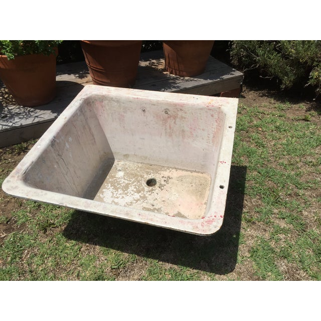Cast Iron Antique Salvage Utility Sink - Image 2 of 12