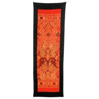 Vintage Laotian Tribal Textile For Sale