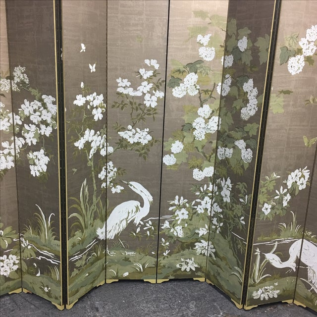 Chinoiserie Custom Designed Screen - Image 3 of 9
