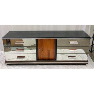 Vintage Mid Century Modern Mirrored Credenza Preview