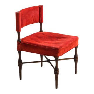 1967 USA Tommi Parzinger Slipper Chair For Sale