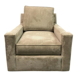 Century Furniture Colton Swivel Chair For Sale