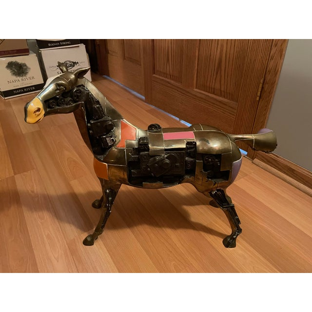 1980s Bronze Trojan Horse For Sale In Chicago - Image 6 of 6