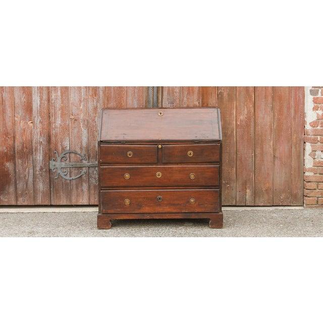 18th Century Swedish Secretary Desk For Sale - Image 11 of 11