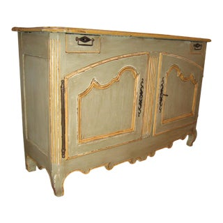 Louis XV Painted Buffet For Sale
