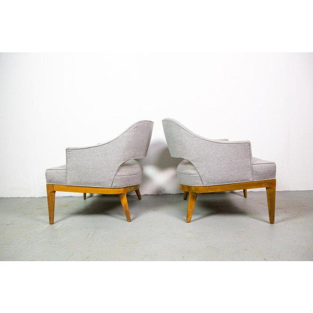 Chic Pair of Lounge Chairs by Harvey Probber For Sale - Image 6 of 7