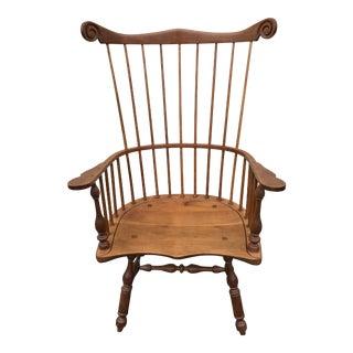 Vintage Cherry Windsor Chair