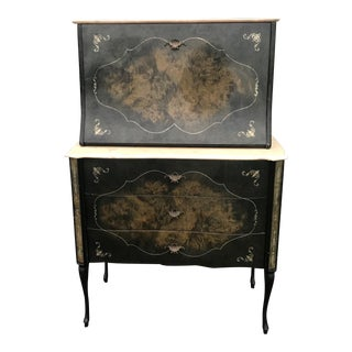 1950s Vintage Tuscan Dry Bar For Sale