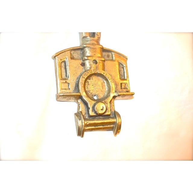 1970s Locomotive Door Knocker For Sale - Image 9 of 10