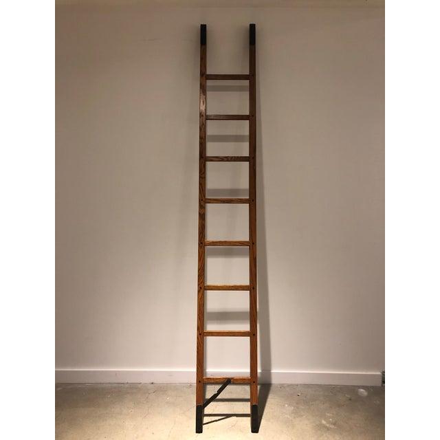 Oak Stick Ladder For Sale In Boston - Image 6 of 7