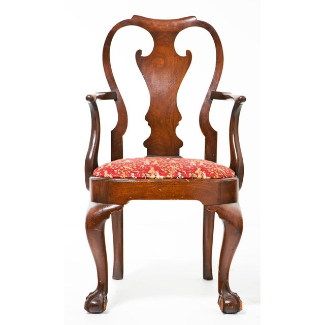 Early 18th Century George I Armchair For Sale - Image 4 of 6