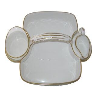 Hammersley & Co. Porcelain Basket Set For Sale
