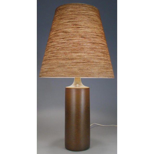 Large 1960's Danish Ceramic Lamp by Bostlund For Sale In New York - Image 6 of 6