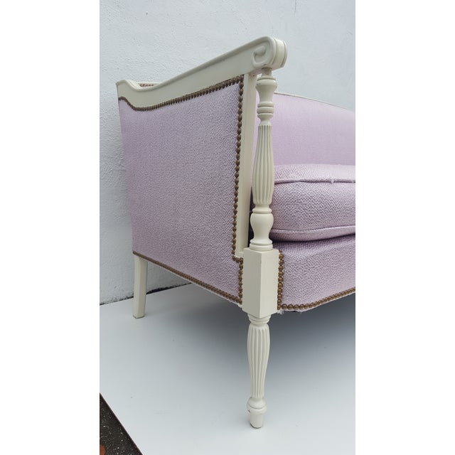 Vintage Hickory Chair Company Regency Style Sofa - Image 7 of 11
