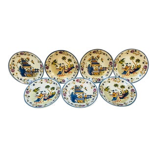 Mid-Century Chinese Plates - Set of 7