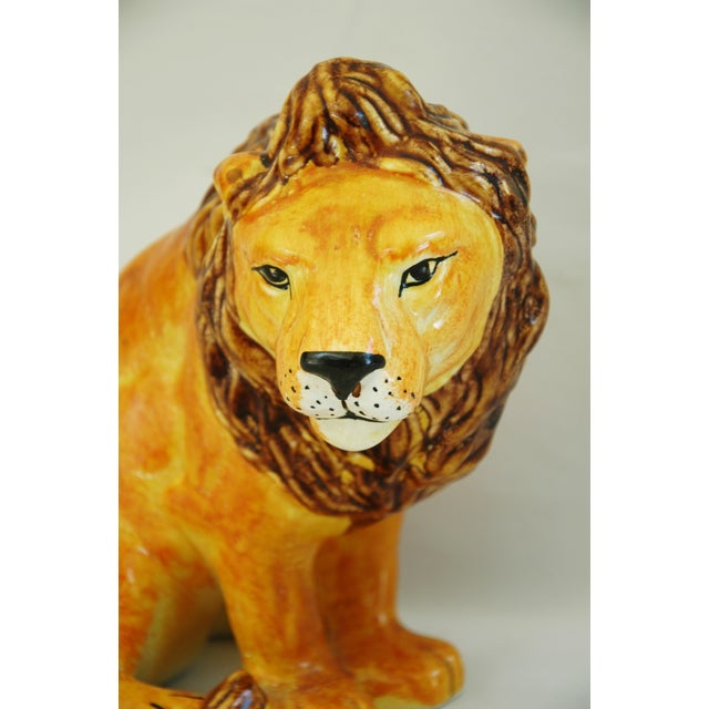 Mid-Century Italian Lion by Bellini - Image 5 of 9
