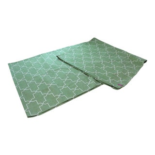 Madeline Weinrib Green Brooke Area Rug - 8' X 10' For Sale
