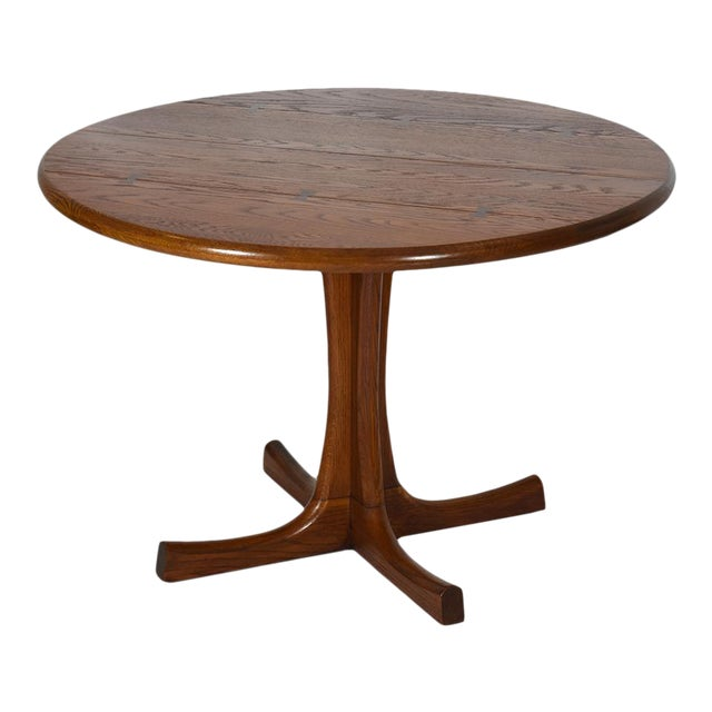 Conant Ball Round Pedestal Dining Table For Sale