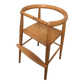 1940s Vintage Nanna Ditzel Danish Children's High Chair For Sale