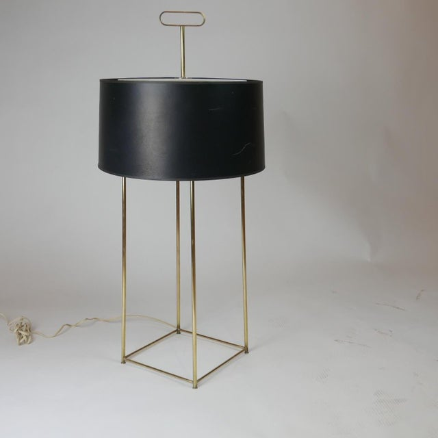 Hollywood Regency Tommi Parzinger Originals Model 19 Table Lamp in Brass For Sale - Image 3 of 12