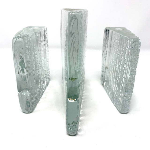 Vintage Iittala Arkipelago Triangle Candle Holders by Timo Sarpenova - Set of 3 For Sale - Image 12 of 13