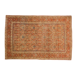 "Antique Mahal Carpet - 8'7"" X 12'8"" For Sale"