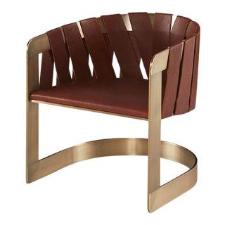 Modern Milling Road Baker Furniture Kara Mann Sling Chair For Sale