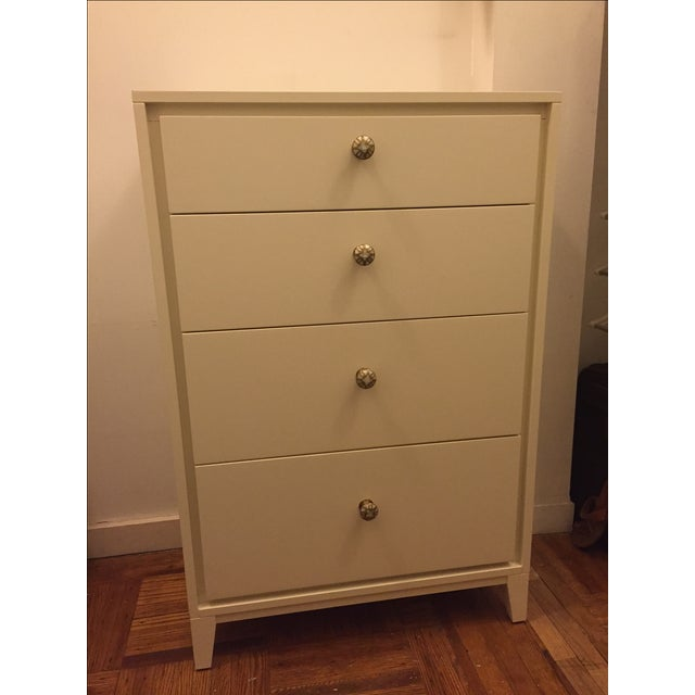 West Elm Niche 4-Drawer Dresser in White - Image 2 of 5