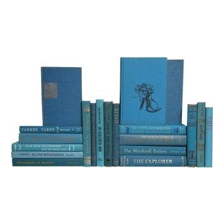 Mid-Century Marine Blue Mix - Set of 20