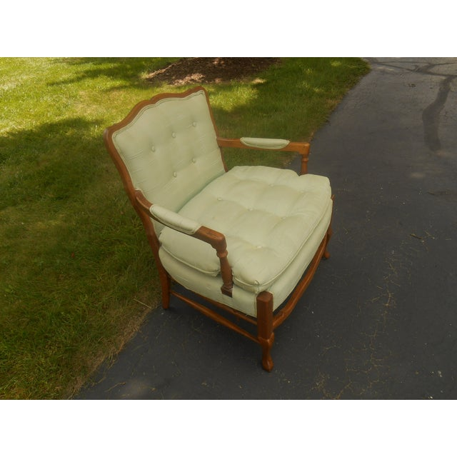 Hickory Furniture North Hickory Furniture Co. Lounge Chair For Sale - Image 4 of 5